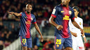 ...and with the number 22, Éric Abidal