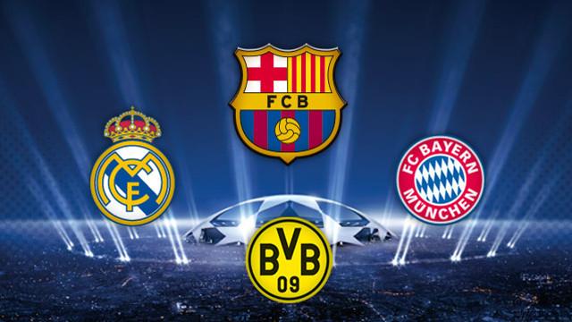 Champions league semi final 2 1st leg 23 april 18 45 gmt