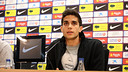 Bartra, during press conference. PHOTO: MIGUEL RUIZ - FCB