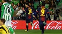 Messi vs Betis / PHOTO: Miguel Ruiz - FCB