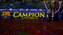 Barça's 2010/11 Liga title / PHOTO: ARCHIVE FCB