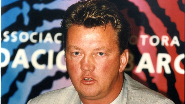 Louis van Gaal. PHOTO: Archive FCB