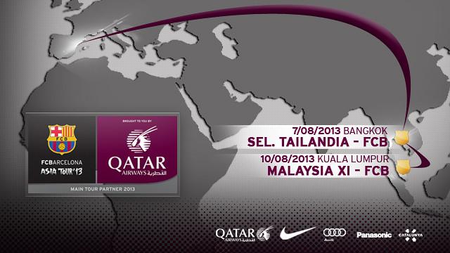 FC Barcelona Asia Tour 2013