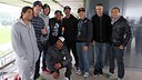 X Games participants and FC Barcelona / PHOTO: Miguel Ruiz - FCB