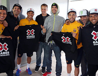 X Games and FC Barcelona / Photo: Miguel Ruiz - FCB