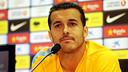 Pedro, aquest dijous / FOTO: MIGUEL RUIZ - FCB