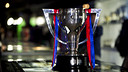 The Liga Trophy / PHOTO: LEX CAPARRS-FCB.