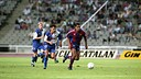 Photo from the first leg of the Super Cup.  FOTO: Arxiu - FCB