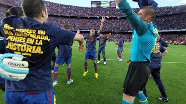 FC Barcelona - La celebraci de la Lliga 2009/10