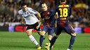 Iniesta v Valencia / Photo/ Miguel Ruiz - FCB