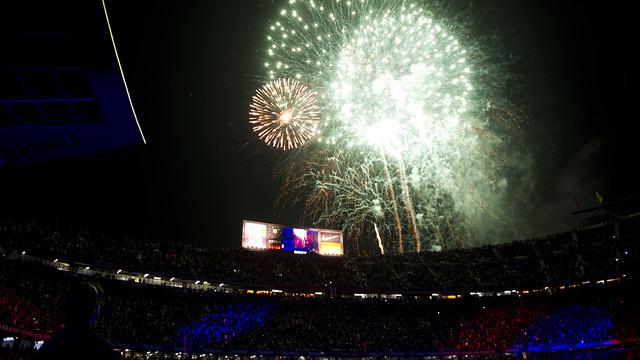 La celebració de la Lliga es farà un cop acabi el partit / FOTO: ARXIU FCB