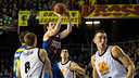 Huertas against Bilbao Basket in the Palau / PHOTO: GERMÁN PARGA - FCB
