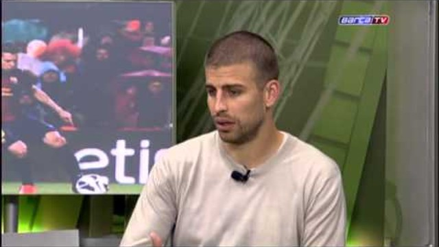 "FC Barcelona - Piqué: ""I give our season a high mark"""