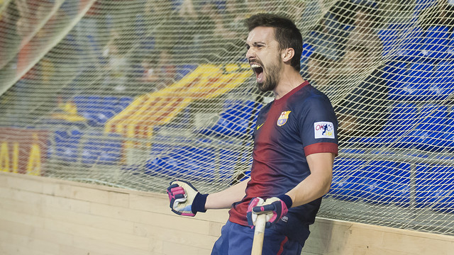 Ordeig celebrant un gol recent / FOTO: Arxiu - FCB