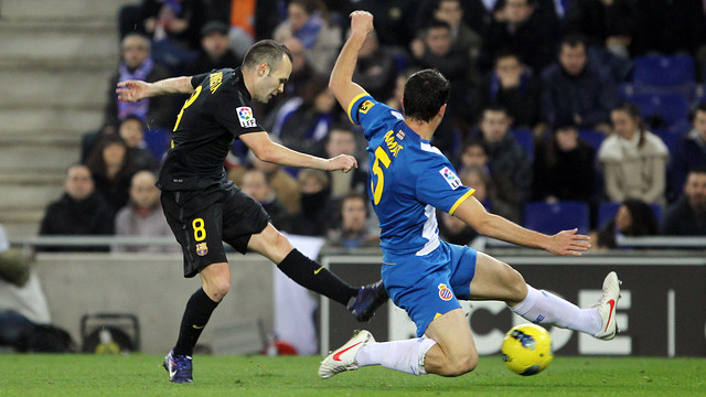 Iniesta / PHOTO: ARCHIVE FCB