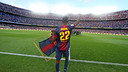 Abidal salue le Camp Nou / PHOTO: MIGUEL RUIZ - FCB