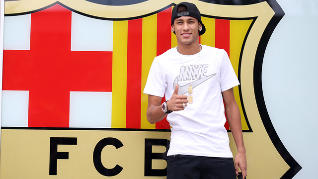 Neymar At The Camp Nou Photo Miguel Ruiz Fcb Neymar At Camp Nou Photo
