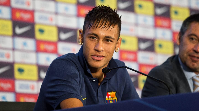 La Premi  Re Conf  Rence De Presse De Neymar     Photos