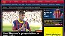 Èxit d'audiència al Youtube de la presentació de Neymar