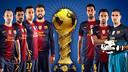 Set jugadors del Barça poden completar el seu palmarès amb la Copa Confederacions