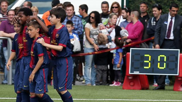 Aleví A - Espanyol / FOTO: MIGUEL RUIZ - FCB