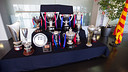 Photos of the trophies won this season PHOTO: GERMÁN PARGA-FCB