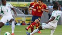 Alba getting the first goal  PHOTO: FIFA.COM