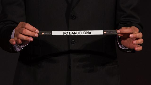 The draw for next season's Euroleague took place this Thursday / PHOTO: GERMÁN PARGA-FCB