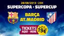 Entrades Supercopa 2013
