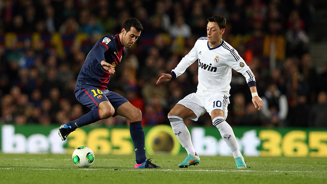 Sergio Busquets, a key element of Barça today / PHOTO: FCB ARCHIVE