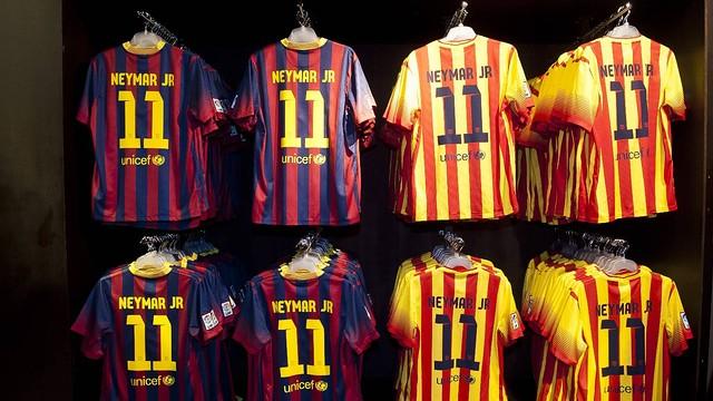 Maillot BARCA - Neymar Jr - N- Collection officielle FC Barcelone