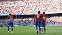 Ronaldinho and Messi / Photo: Arxiu FCB
