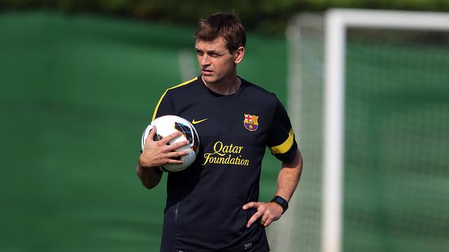 Tito Vilanova / PHOTO: ARXIU FCB