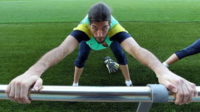 Pinto / PHOTO: MIGUEL RUIZ-FCB.