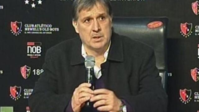 'Tata' Martino a Rosario