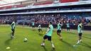 Els jugadors blaugrana han fet les delícies dels aficionats / FOTO: MIGUEL RUIZ - FCB