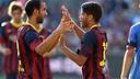 Montoya and Dos Santos. PHOTO: MIGUEL RUIZ-FCB.