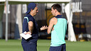 Martino and Messi / PHOTO: MIGUEL RUIZ-FCB