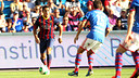 Alexis, en el partit contra el Valerenga / FOTO: MIGUEL RUIZ - FCB