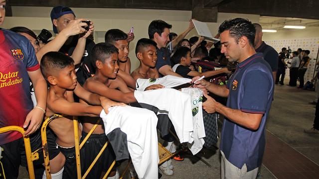 Xavi  / PHOTO: MIGUEL RUIZ - FCB