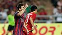 Messi, durant el partit a Tailàndia / FOTO: MIGUEL RUIZ - FCB
