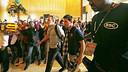 Leo Messi a l'arribada de l'equip a Kuala Lumpur / FOTO: MIGUEL RUIZ - FCB