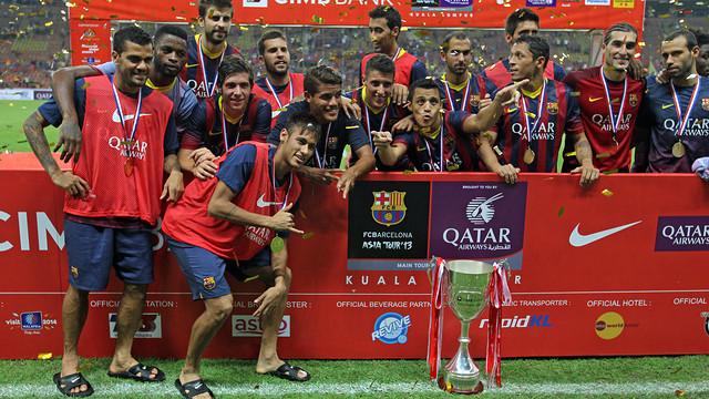 El Barça guanya a Malàisia. FOTO: MIGUEL RUIZ-FCB.