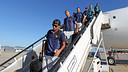 L'equip ha aterrat a Barcelona / FOTO: MIGUEL RUIZ - FCB