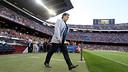 Gerardo Martino, at the Camp Nou during the team presentation. PHOTO: MIGUEL RUIZ-FCB.