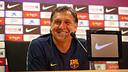 Gerardo 'Tata' Martino at Saturday's press conference. PHOTO: MIGUEL RUIZ-FCB.