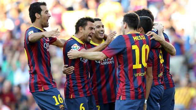 FC Barcelona 7-0 Levante