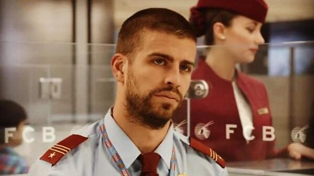 Gerard Piqué is one of the stars of the FC Barcelona and Qatar Airways commercial / PHOTO: @3gerardpique