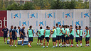 The team trained on Friday at the Ciutat Esportiva / PHOTO: MIGUEL RUIZ-FCB