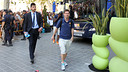 Leo Messi arriving at the hotel in Valencia / PHOTO: MIGUEL RUIZ - FCB